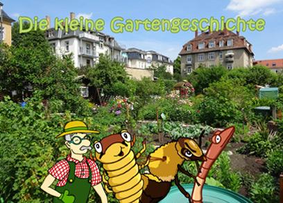 Kinderbroschüre - Unsere Freunde im Garten