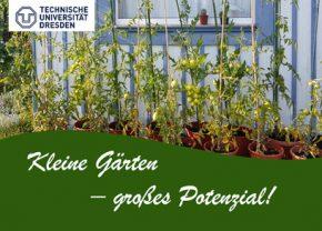 Kleine Gärten - großes Potential!