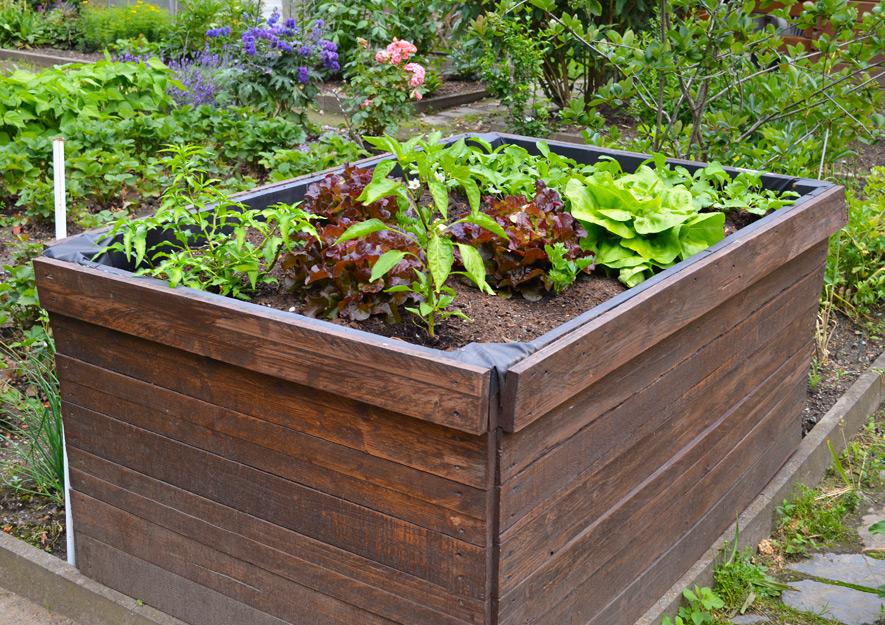 Hochbeete - Gartennutzung