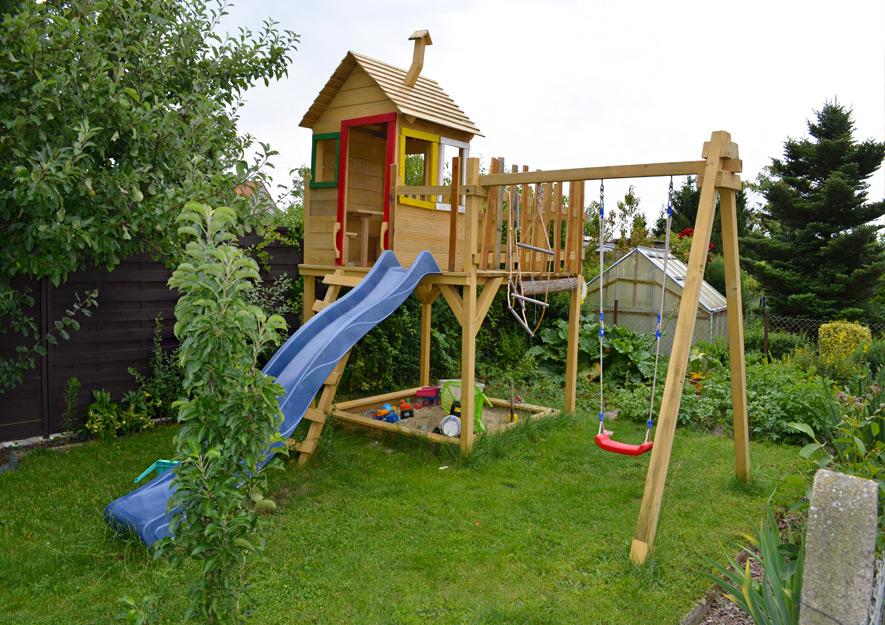 Gartennutzung Spielgeräte