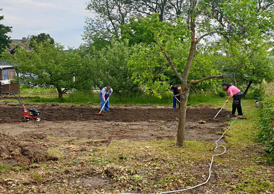 Tafelgärten und Klimagärten in den KGA der Stadt Plauen