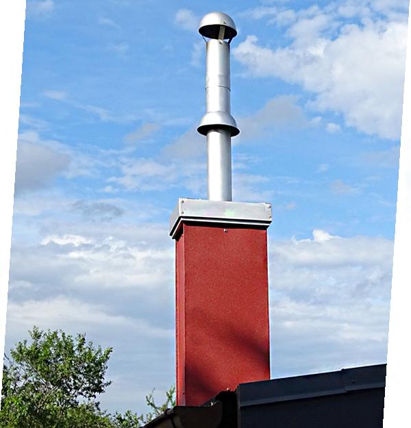 Schornstein in Kleingärten - RKO Verstoss