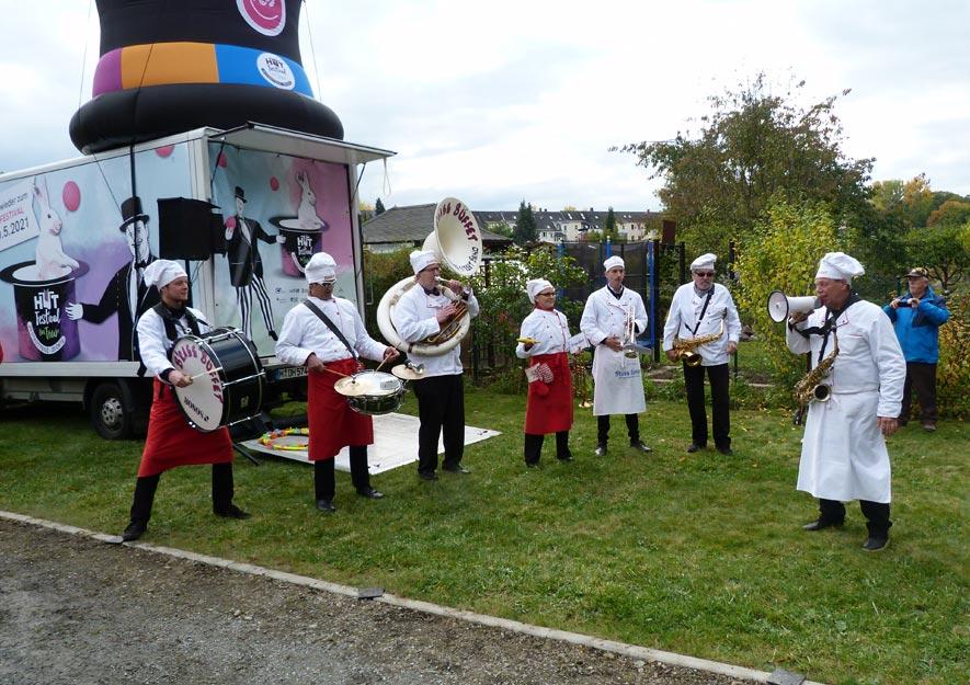 """Hut-Festival im KGV """"Sachsenruh"""" - Oktober 2020"""