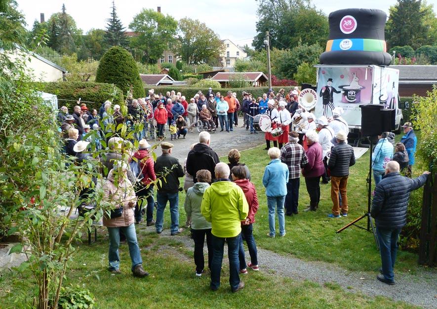"Hut-Festival im KGV ""Sachsenruh"" - Gartenfreunde"