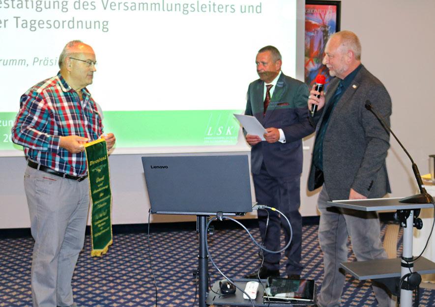LSK-Gesamtvorstandes am 23.10.2020 in Leipzig