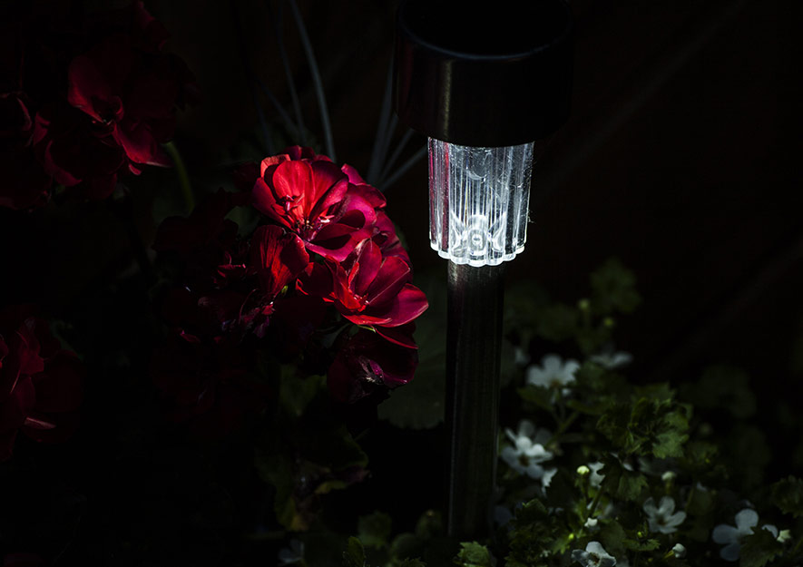 Lichtverschmutzung entgegenwirken - Soloarleuchte