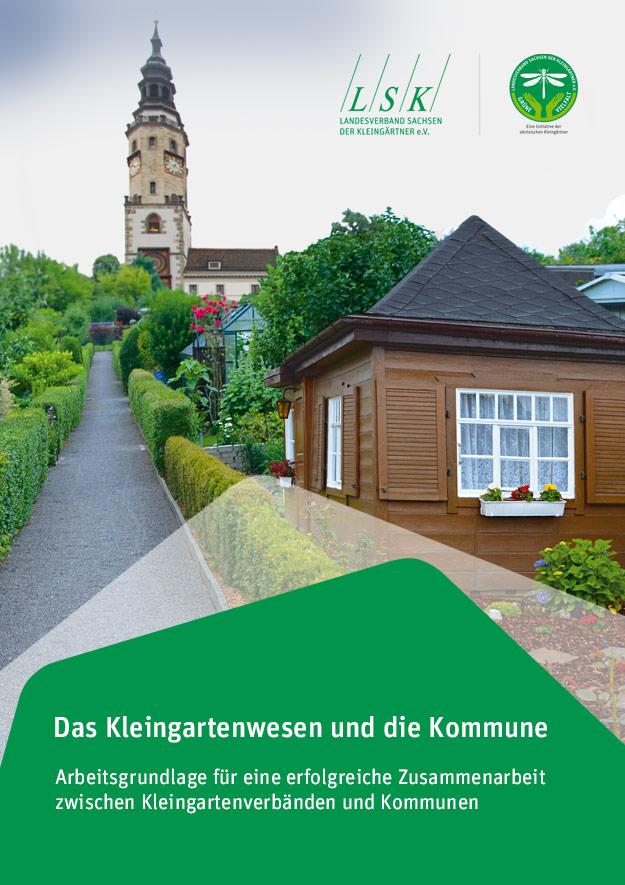 Planung & Erarbeitung einer Broschüre im Jahr 2021 - Das Kleingartenwesen und die Kommune