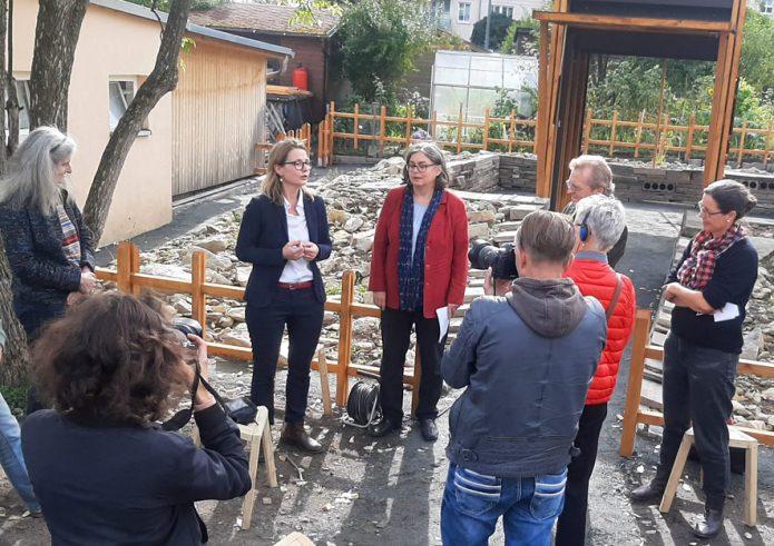 Pressegespräch mit Dresdens Kulturbürgermeisterin und Umweltbürgermeisterin