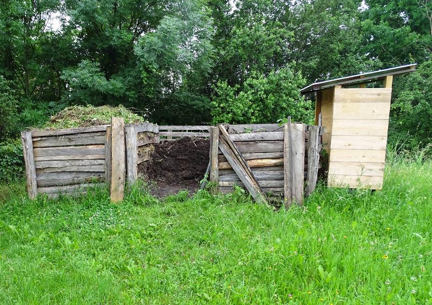 Gemeinschaftskompostanlage in Kleingartenanlagen