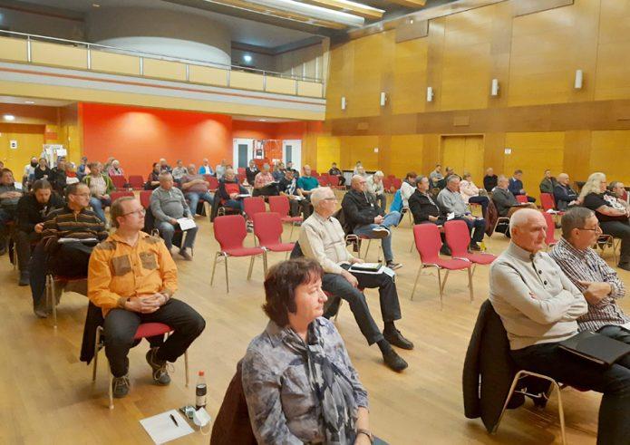 Mitgliederversammlung Stadthalle Pleißenthal