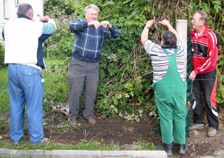 Kleingartenverein - Arbeitsleistungen an Gemeinschaftsanlagen