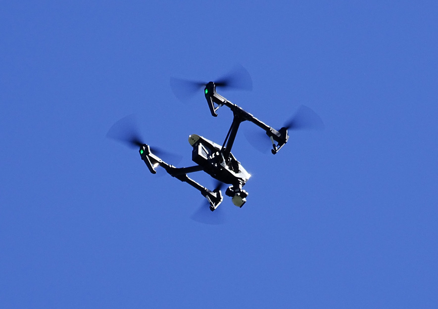 Kleingartenanlagen - Drohnen-Flugverbot über Kleingärten