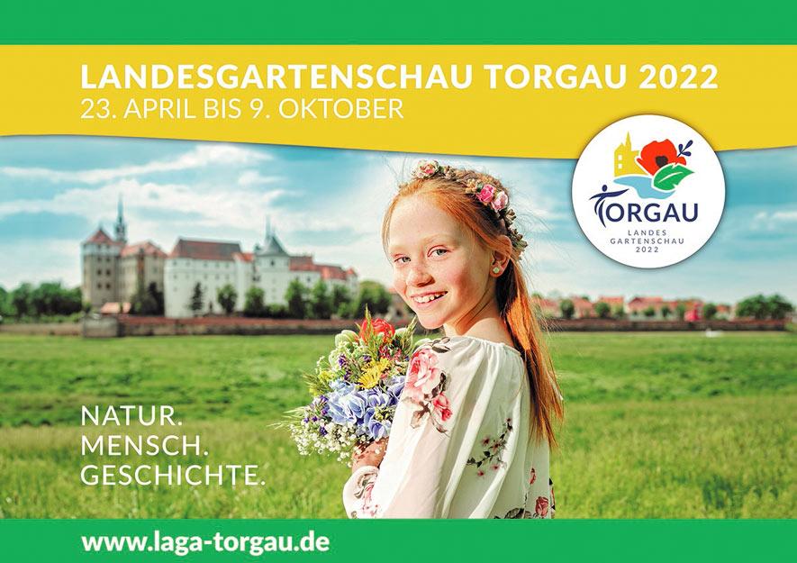 Landesgartenschau in Torgau vom 23.04. bis 09.10.2022