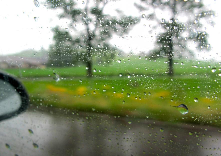 Ergiebiger Landregen - Niederschlagsdefizit in Sachsen