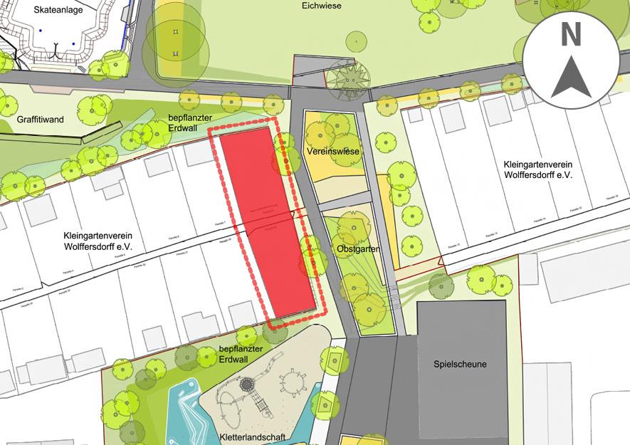 Lageplan - LSK-Schaugärten LaGa Torgau 2022