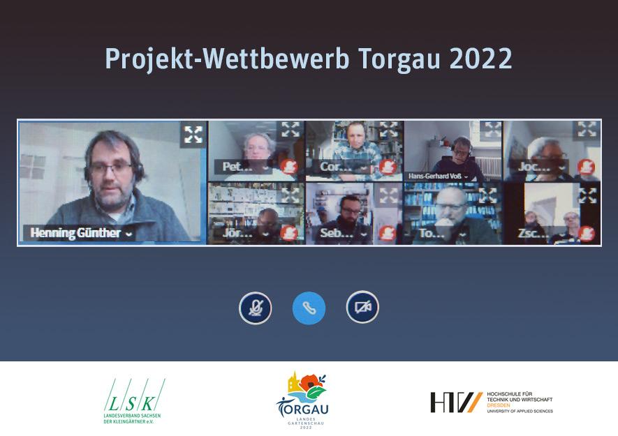 Wettbewerbsjury - LaGa Torgau 2022