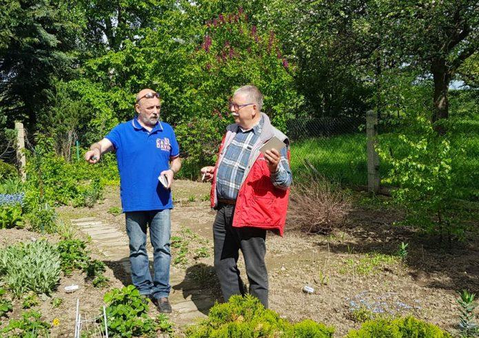 Sächsische Gartenakademie - Leiter Frank Sander