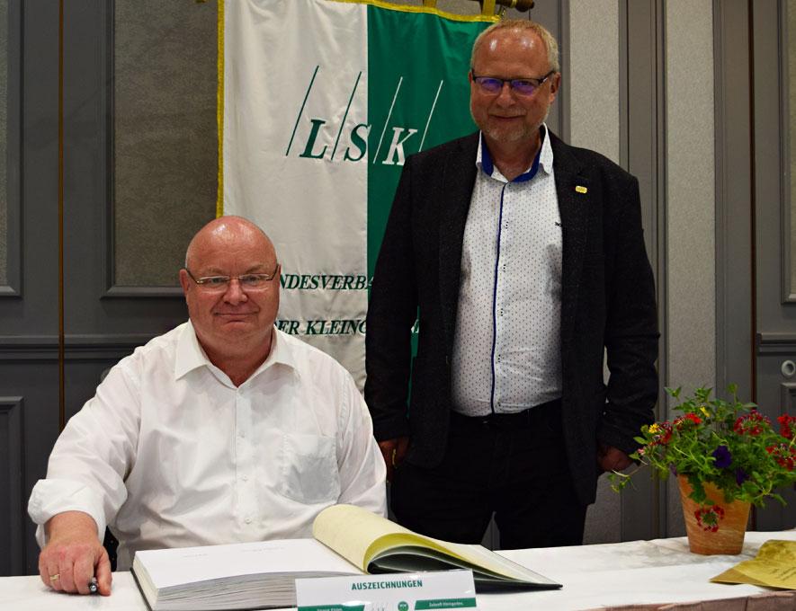 10. Verbandstag in Dresden – Eintragung LSK-Ehrenbuch