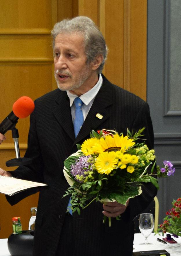 10. Verbandstag in Dresden - LSK-Ehrenmitglied Lothar Fritzsch