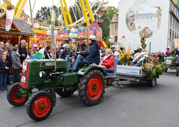 23. Landeserntedankfest in Zittau – Rückblick Borna