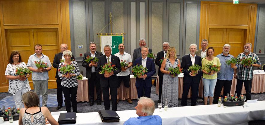 10. Verbandstag des LSK in Dresden - Vertrauen von Delegierten