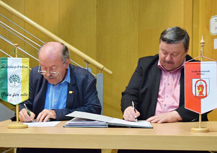 Generalpachtvertrag mit Stadt Werdau erneuert
