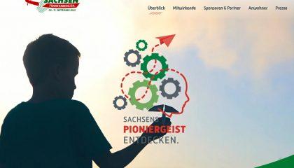 Tag der Sachsen Frankenberg 2022 - Sachsens Pioniergeist entdecken