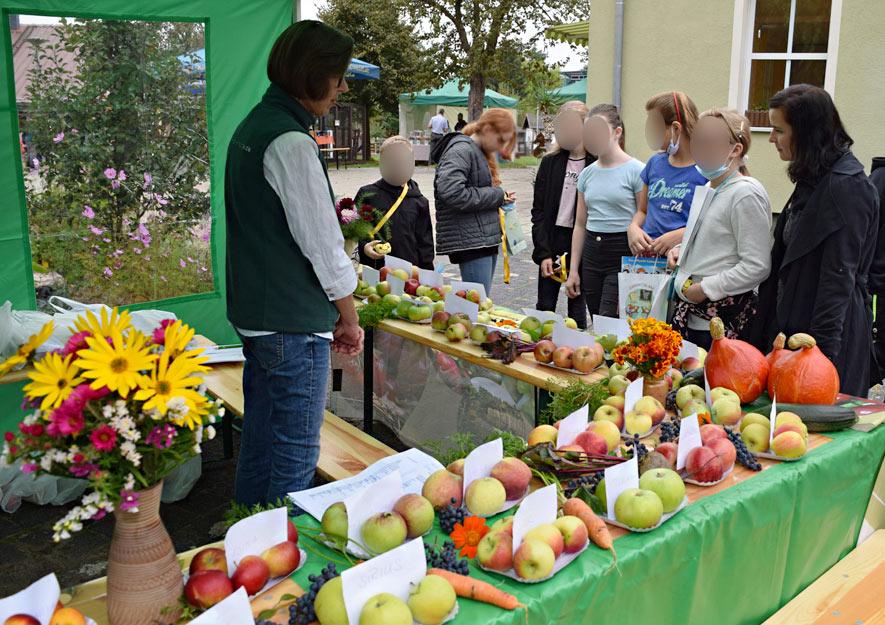 Lebensmittel sind wertvoll - LSK Infostand Apfelsorten