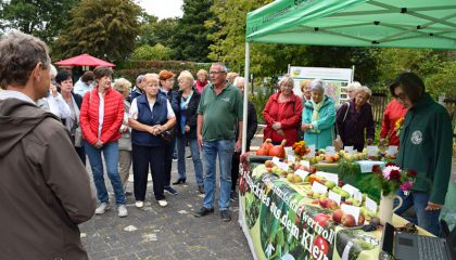 Lebensmittel sind wertvoll – LSK Infostand Apfelsorten