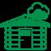Holzlaube Icon